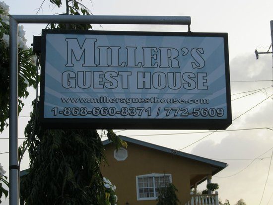 Miller's Guest House: From the street