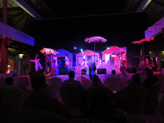 Excellence Punta Cana: There is a different show every night