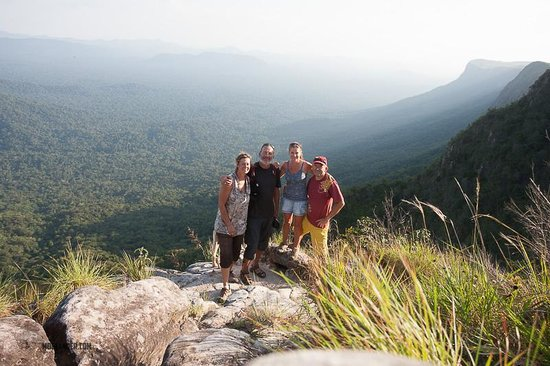 La Gran Sabana: Overlooking the Amazon basin from Venezuela
