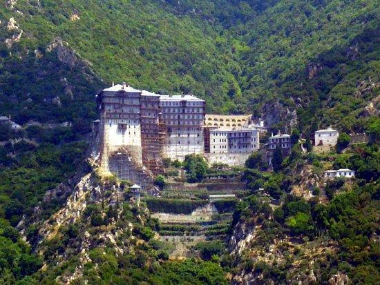 Athos Sea Cruises: Kloster