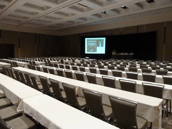 Washington State Convention Center: Typical breakout room