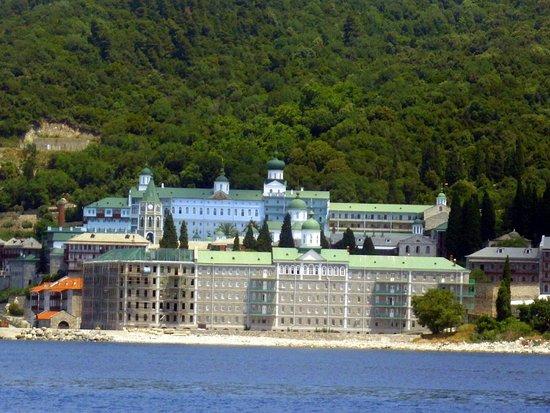 Athos Sea Cruises: das russische Kloster