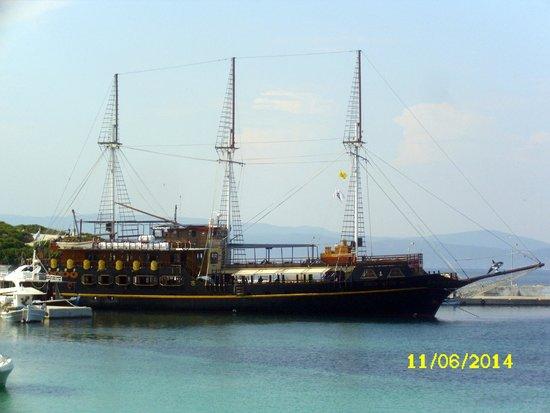 """Athos Sea Cruises: unser """"Piratenschiff"""""""