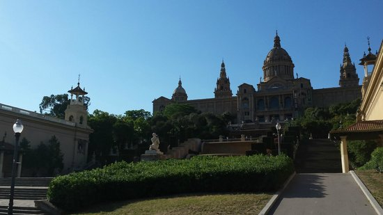 Crowne Plaza Barcelona - Fira Center: Museu Nacional D'Art de Catalunya