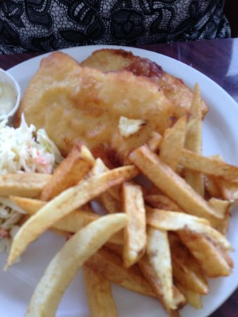 Haultain Fish & Chips: Halibut fish and chips