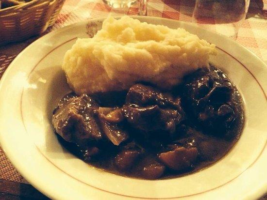 Restaurant Polidor : Beef Bourgignon