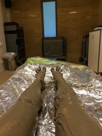 Medical SPA Eglės Sanatorija Birštonas : Лечебные грязевые обертывания