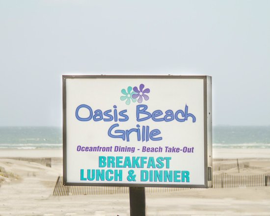 Oasis Beach Grille: Oceanfront Dining