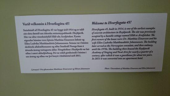 Reykjavik Residence Hotel : Background on our apt.