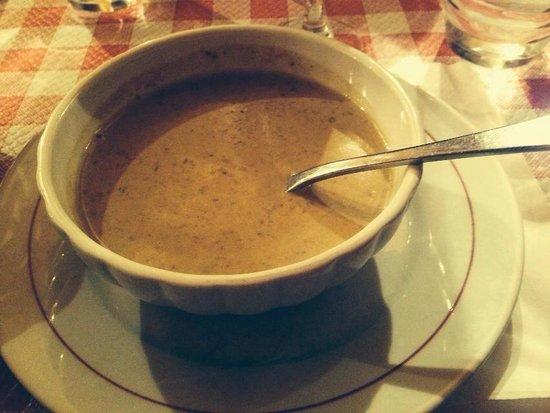 Restaurant Polidor : Pumpkin soup