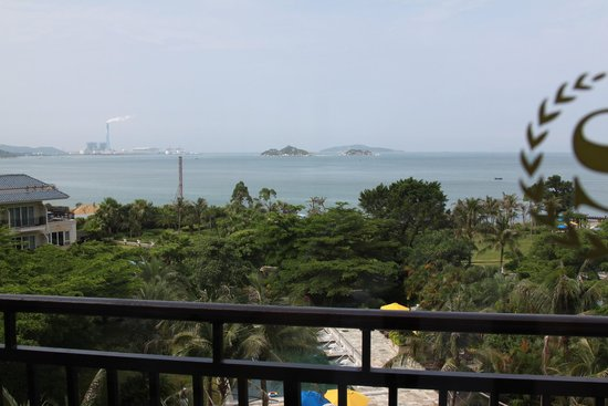 Sheraton Huizhou Beach Resort: Outside the window