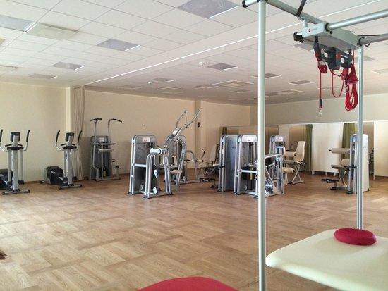Medical SPA Eglės Sanatorija Birštonas : Тренажерный зал. Открытие в июле 2014.