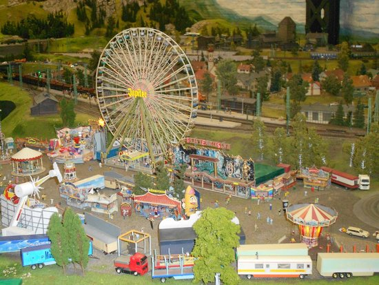 luna park foto di miniatur wunderland amburgo tripadvisor. Black Bedroom Furniture Sets. Home Design Ideas