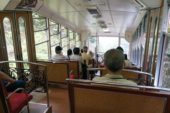 Hieizan Enryaku-ji Temple : 阪本車登山車