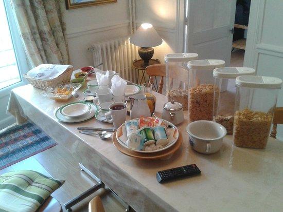Le petit déjeuner: trop bien!