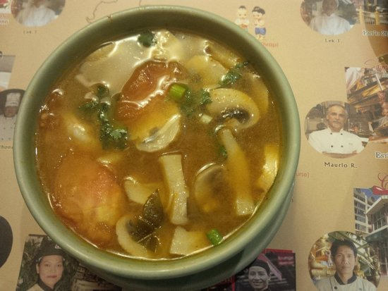 Thai House Restaurant: Hot and sour soup