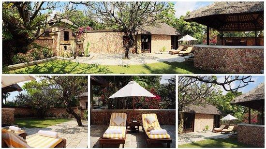 The Oberoi, Lombok: Villa's garden