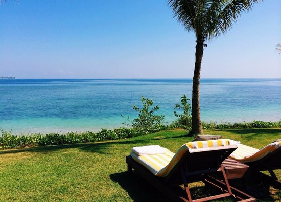 The Oberoi, Lombok: Hotel's beach