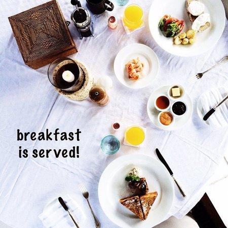 The Oberoi, Lombok : Breakfast in the villa