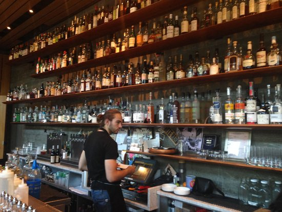 H2 Hotel: The Spoon Bar has a fabulous collection of booze