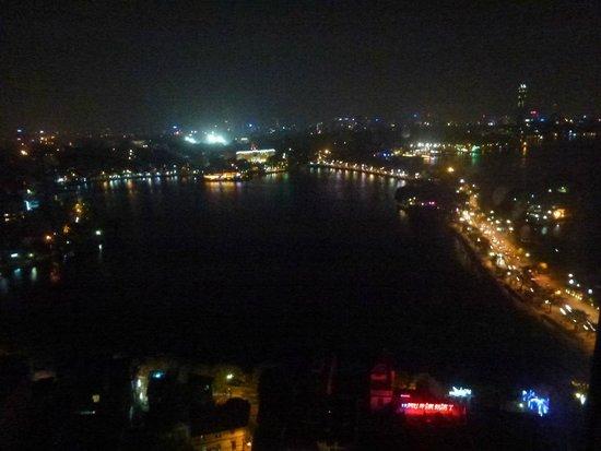 Pan Pacific Hanoi: Vistas desde la terraza del último piso