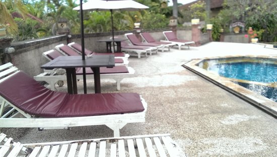 Aditya Beach Resort: Pool Area