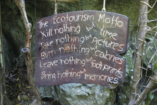 Ugong Rock : Reminder at the Entrance of the Cave