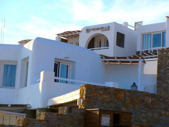 Rocabella Mykonos Hotel & SPA: View of Hotel