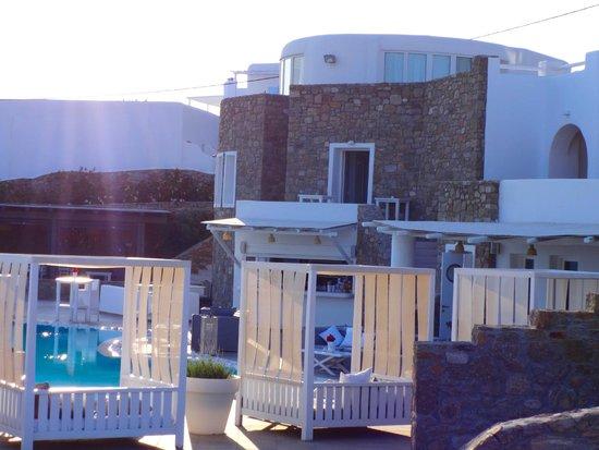 Rocabella Mykonos Hotel & SPA: Pool area
