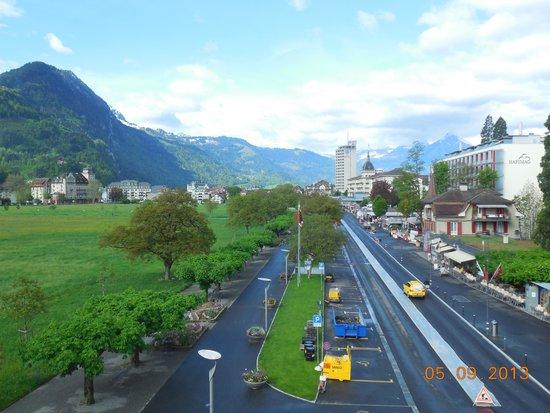 Hotel du Nord : Interlaken visto da janela do Quarto
