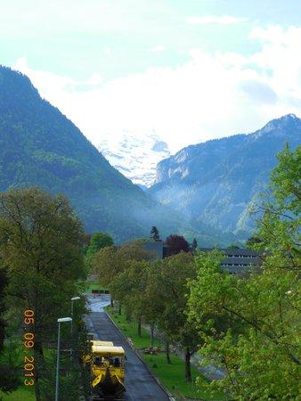 Hotel du Nord : Pque de Interlaken visto do quarto