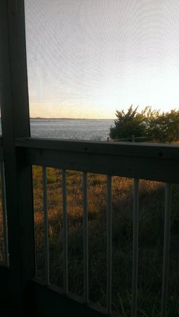 The Cottages at the Indian River Marina : view of river from porch