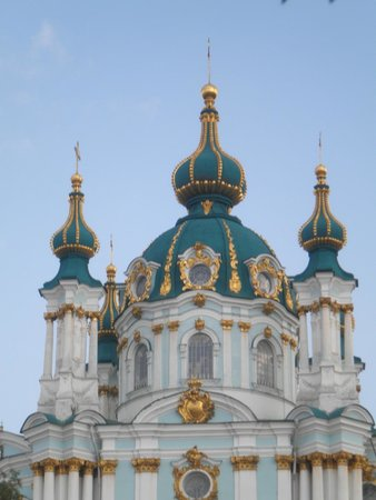 Andriyivski Uzviz: Андреевская церковь