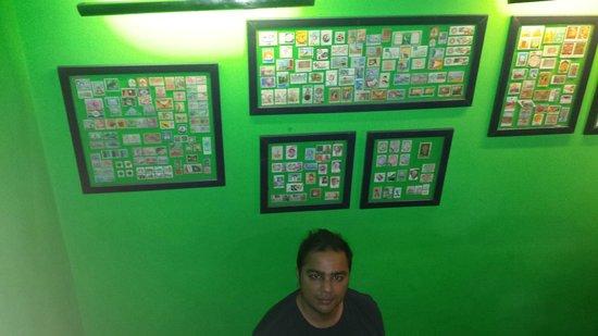 Andaaz Restaurant: INSIDE PAKISTANI STAMP