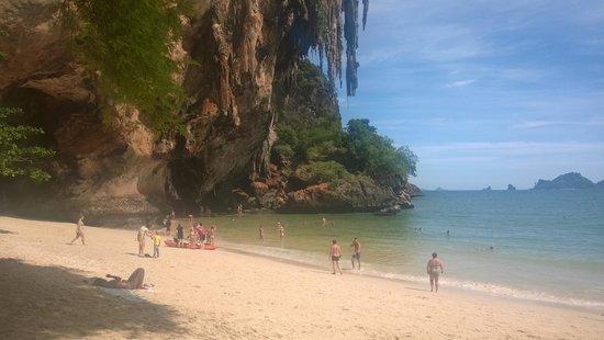 Phra Nang Cave Beach: ...auch in der anderen Richtung