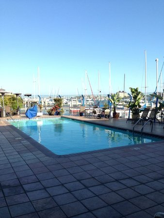 Waterfront Hotel, a Joie de Vivre hotel : The pool deck