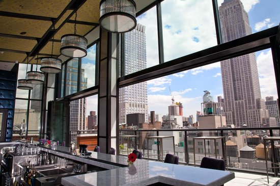 Photo of Lounge Spyglass Rooftop at 45 West 38th Street, New York, NY 10016, United States