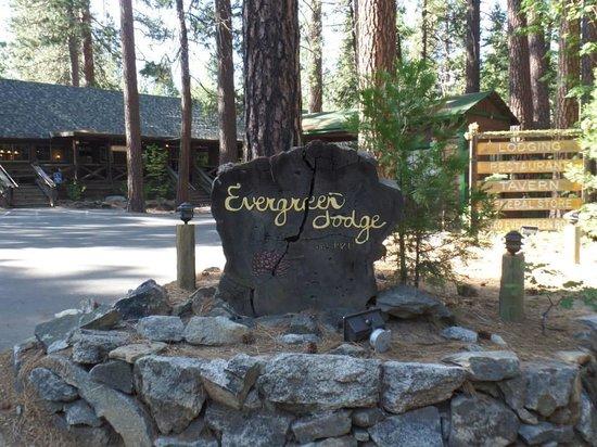 Evergreen Lodge at Yosemite : Evergreen lodge