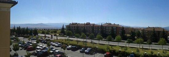 Hotel Candido: vista desde la habitación 227