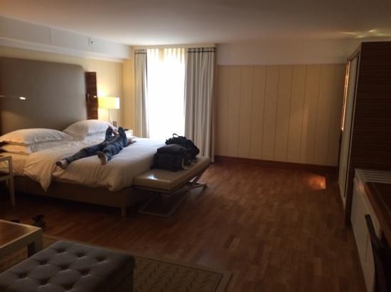 Sheraton Stockholm Hotel : Junior suite.