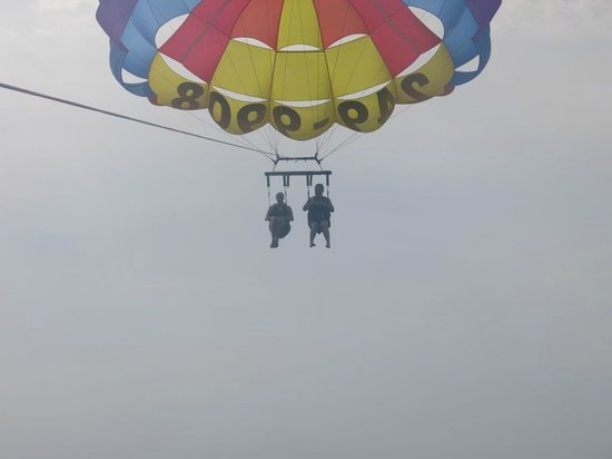 Parasailing In North Myrtle Beach South Carolina
