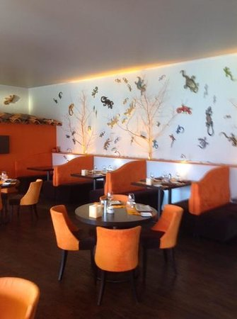 Hotel & Spa des Gorges du Verdon : the inside restaurant