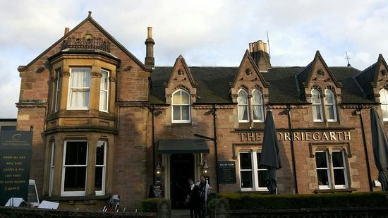 Corriegarth Hotel: Great food Good Test