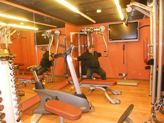 Hotel Katajanokka: the gym