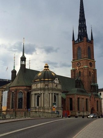 Sheraton Stockholm Hotel: Church