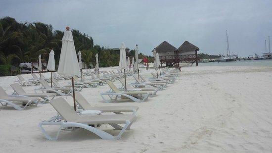 El Dorado Maroma, a Beachfront Resort, by Karisma : beach to ourselves