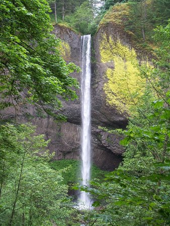 Columbia Gorge Scenic Highway: Latrell Falls