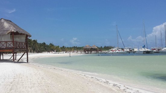 El Dorado Maroma, by Karisma : Gorgeous beach