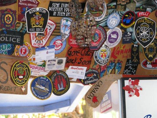 The Get Wet Bar: Badges
