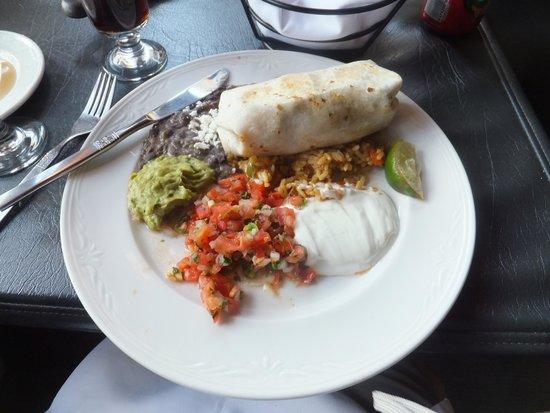 El Toro Restaurant: Burrito